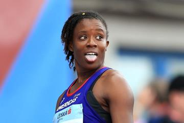 100m hurdles winner Danielle Williams at the IAAF Continental Cup (Getty Images)