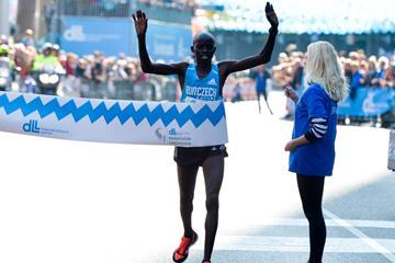 Festus Talam wins the 2016 Eindhoven Marathon (Organisers)
