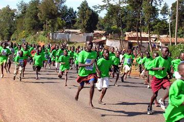 Kids' race at the Loroupe Peace Race (David Macharia)