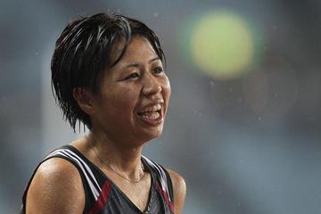 Japanese distance runner Kayoko Fukushi (Getty Images)