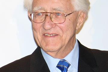 German athletics journalist Gustav Schwenk (IAAF)