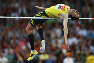 Bogdan Bondarenko at the IAAF Diamond League meeting in London (Getty Images)