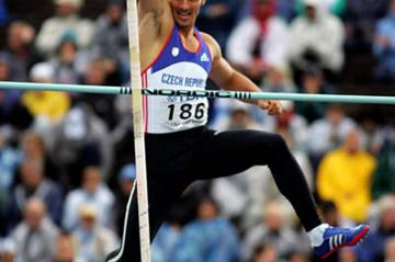 Roman Sebrle in the Decathlon's Pole Vault (Getty Images)