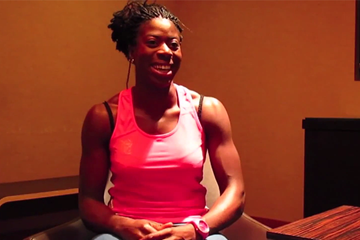 Christine Ohuruogu on IAAF Inside Athletics (IAAF)