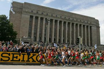General View of the men's marathon in Helsinki (Getty Images)