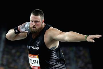 Tom Walsh at the 2018 Commonwealth Games (Getty Images)