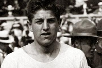 First official World recordholder for the men's 100m: Donald Lippincott at the 1912 Olympic Games in Stockholm (Getty Images)