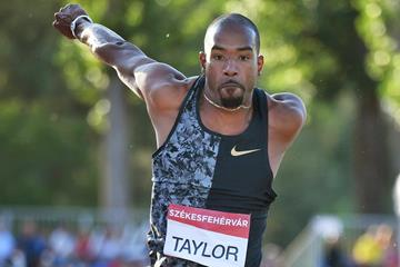 Christian Taylor, winner of the triple jump in Szekesfehervar (AFP / Getty Images)