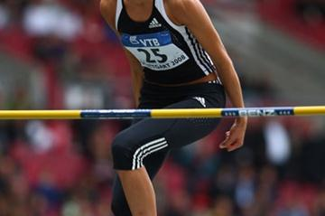 Blanka Vlasic equals the World Athletics Final competition record of 2.01m to record her 36th consecutive competition over two metres (Getty Images)