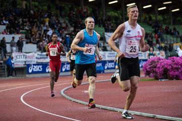 Lars Rise (#5) in the 1500m at the 2016 Multistars Trofeo Zerneri Acciai in Florence (Organisers)