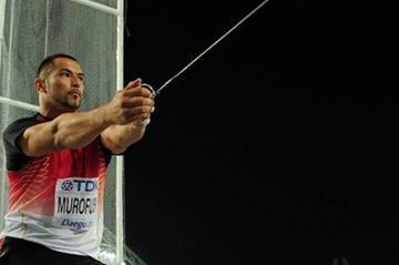 Koji Murofushi throws a season's best 81.24 to win gold in Daegu (Getty Images)