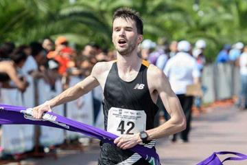 Ben Thorne wins the 20km event in Monterrey (Estatal de Cultura Física y Deporte de Nuevo Leon)