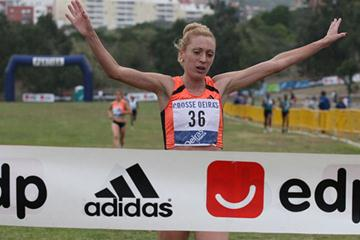 Monica Rosa taking a solid win in Lisbon (Marcelino Almeida)