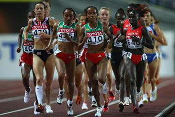 Meseret Defar in action in the 5000m final (Getty Images)