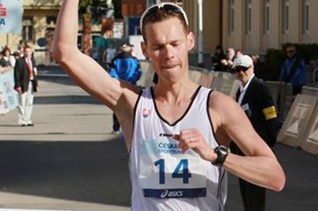 Matej Toth takes Podebrady victory No. 4 (Jan Kucharčík for atletika.cz)