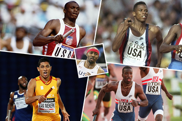 Tyree Washington's dream relay team (Getty Images)