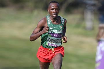 Thierry Ndikumwenayo in action at the World Cross Country Championships Aarhus 2019 ()