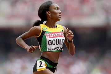 Natoya Goule in the 800m at the IAAF World Championships (Getty Images)