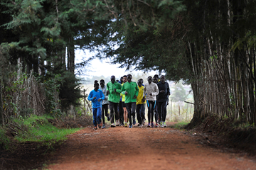 Athletes training in Kenya (AFP / Getty Images)