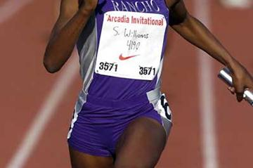 Sa'de Williams in Arcadia Invitational (Kirby Lee)