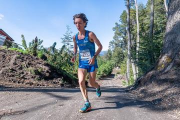 Italian mountain runner Francesco Puppi (WMRA)