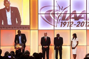 IAF Athlete of the Year awards ceremony, Barcelona, Spain, 24 November 2012 (Getty Images)