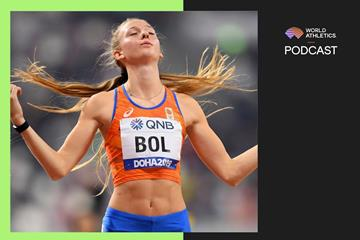 Dutch 400m hurdler Femke Bol (Getty Images)