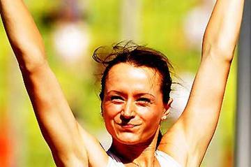 Yelena Slesarenko (RUS) - 2.02m in Munich (Getty Images / Bongarts)