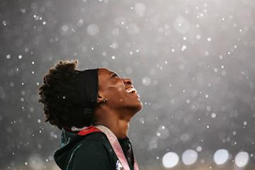 Triple jumper Thea LaFond from Dominica (Getty Images)