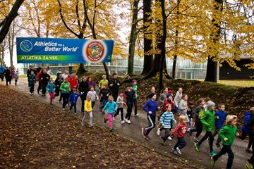 The 'all generations run 4 fun' event in Kranj (Organisers)