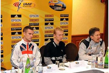 Andrew Lemoncello, Mark Pollard, Geoff Wightman - LOC press conference (Kirby Lee)