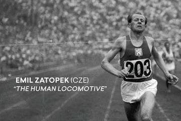 Emil Zatopek (CZE) ()