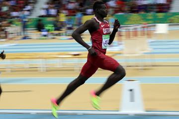 Abdalelah Haroun at the Asian Indoor Games in Ashgabat (LOC)