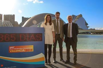 The one-year countdown to the IAAF World Half Marathon Championships Valencia 2018 (LOC)