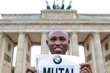 Cool, calm and collected - Geoffrey Mutai in Berlin (Jiro Mochizuki)