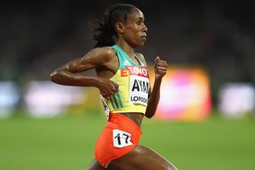 Almaz Ayana in action at the IAAF World Championships London 2017 (Getty Images)