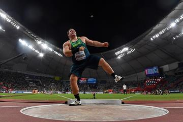 Brazil's Darlan Romani at the 2019 World Championships (Getty Images)