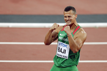 Balazs Baji after finishing third in the 110m hurdles at the IAAF World Championships London 2017 (AFP / Getty Images)