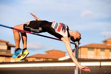 Bogdan Bondarenko at the 2014 IAAF Rieti World Challenge meeting (Giancarlo Colombo)