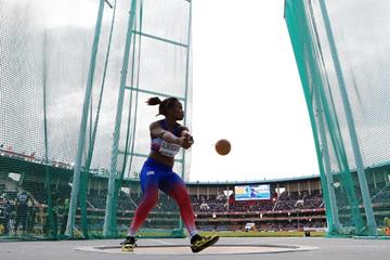 Amanda Almendariz in the hammer at the IAAF World U18 Championships Nairobi 2017 (Getty Images)