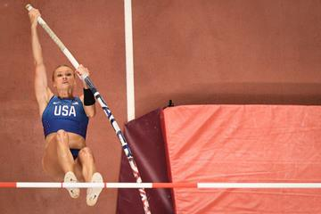 Katie Nageotte at the IAAF World Athletics Championships Doha 2019 (AFP / Getty Images)