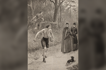 Laying the trail (IAAF)
