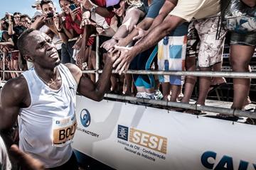 Usain Bolt In Rio 2013 (Thiago Diz)