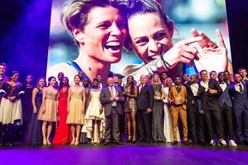 All of the award winners at the World Athletics Awards 2019 (Dan Vernon)