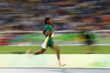 Caster Semenya in the 800m at the Rio 2016 Olympic Games (Getty Images)