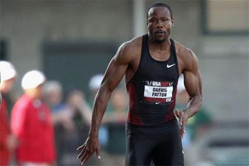 American sprinter Darvis Patton (Getty images)