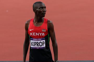 Asbel Kiprop in the 1500m at the London 2012 Olympic Games (Getty Images)