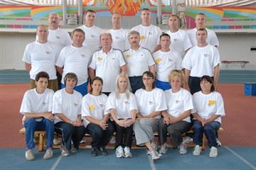 Coaches and Lecturers during the CECS LIV Combined Events Course in Moscow (IAAF)