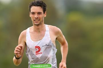Australian distance runner Harry Summers (Getty Images)