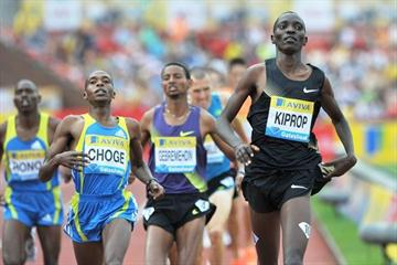 Gateshead 1500m winner Asbel Kiprop (Mark Shearman)